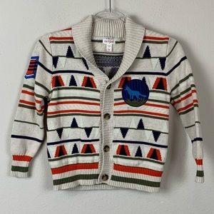Cat & Jack Boys Button DownBoys Cardigan Sweater